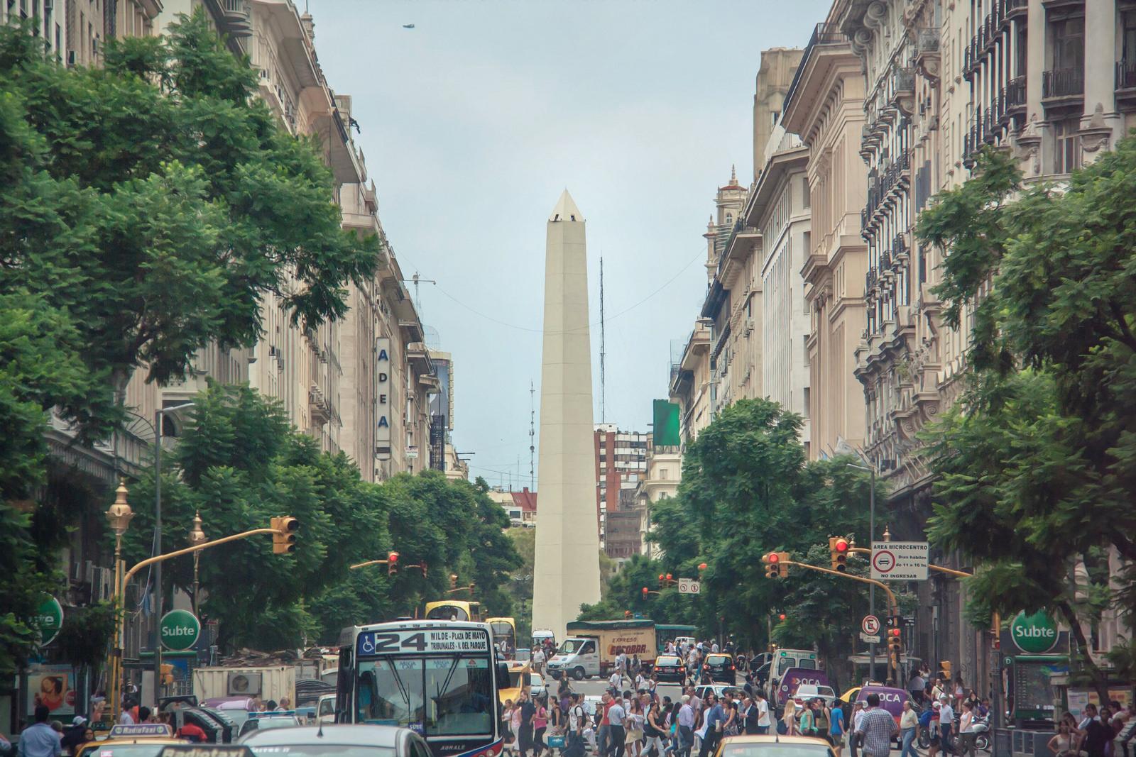 Av Diagonal Norte by Juanedc