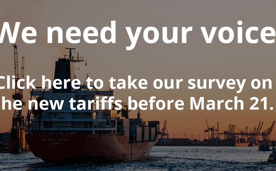 tariff impact survey