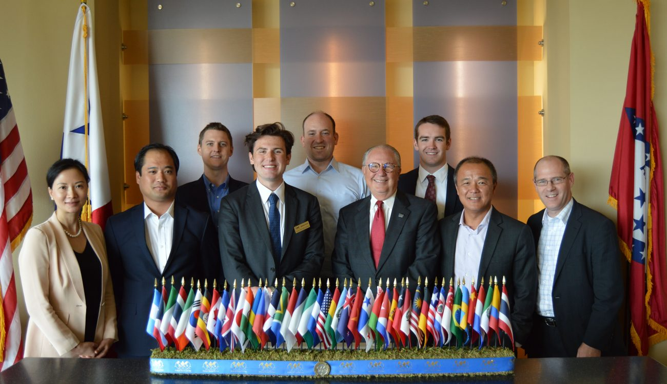 Members from the Arkansas Economic Development Commission's (AEDC) overseas Global Business Development team met with the World Trade Center Arkansas (WTCAR) officials in Rogers.