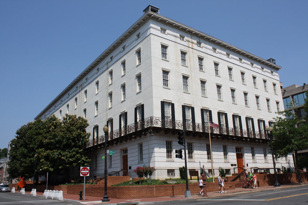 The NAFTA Hearings took place in the Winder Building in D.C. which houses the Office of the U.S. Trade Representative