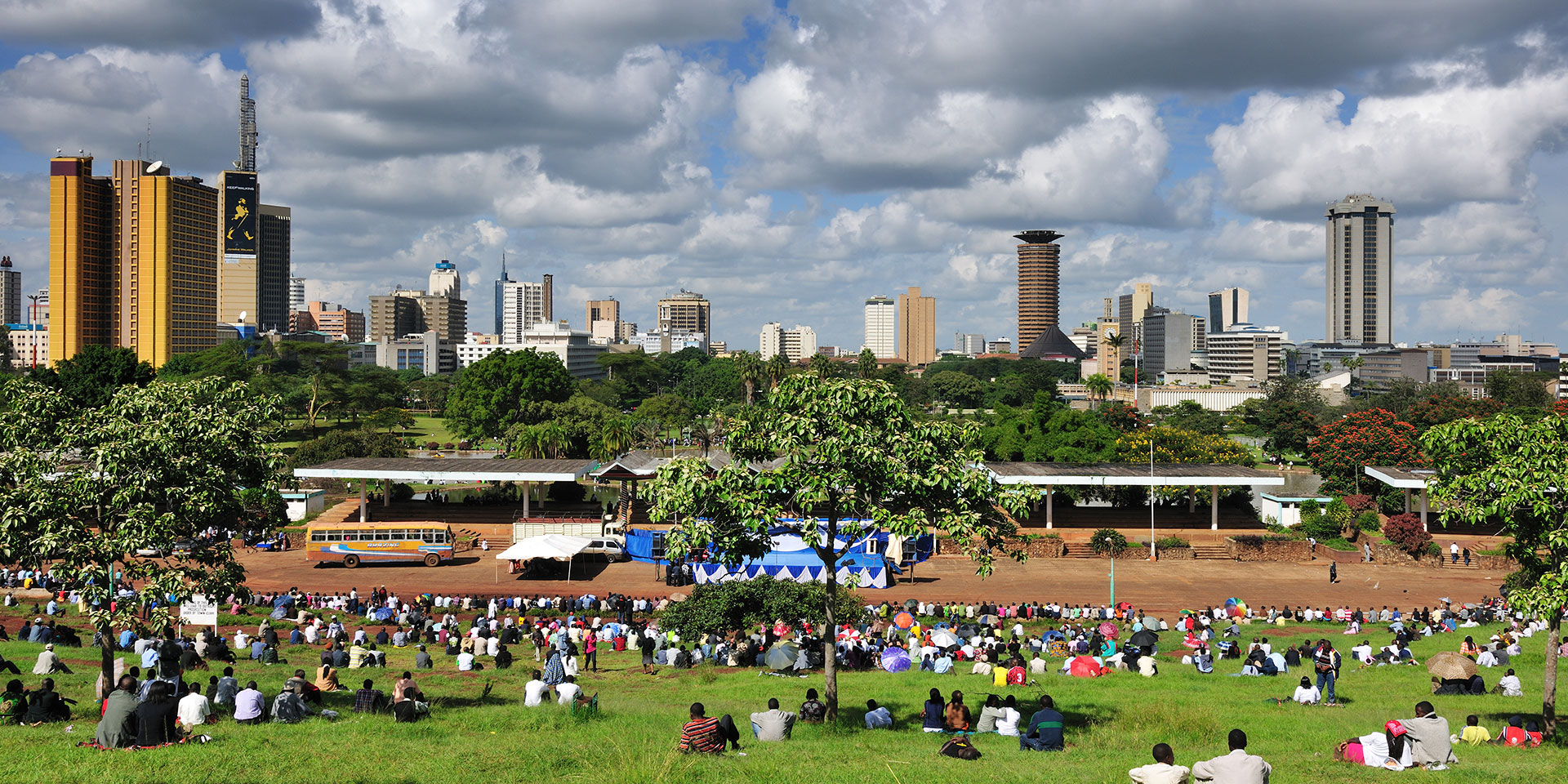 Nairobi, Kenya. Kenya has one of Africa's largest economies by GDP and imports $32 billion every year, making it an ideal trade partner. Photo courtesy of magicalkenya.com